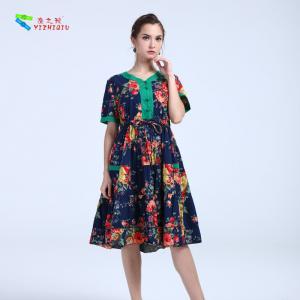 China YIZHIQIU Casual Dresses cotton anti-static dress wholesale