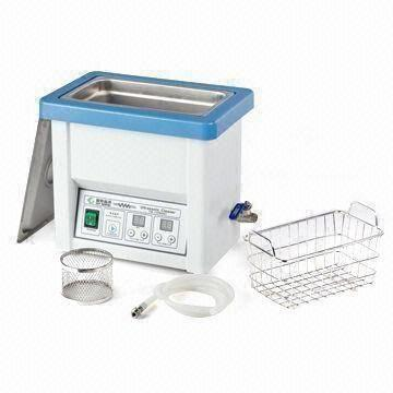 Quality Dental Ultrasonic Cleaner, 5L with 1 to 60 Minutes Adjustable Time Setting for sale