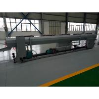 China Waste Water PVC Pipe Extrusion Line With ABB Inverter 110 - 200mm Pipe Range wholesale