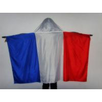 China All Countries England Flag Cape / Cloth Shape National Soccer Fan Cape for sale