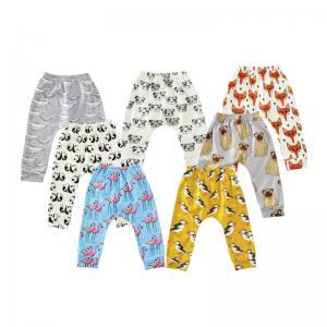 China Custom children new arrival baby dress printing leggings wholesale kids pants on sale