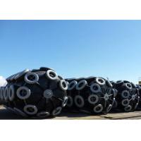 China EVA Foam Filled Fenders With Chain And Net For Oceam Platform With Chain And Tyre Net on sale