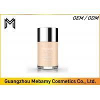 China Organic Liquid Mmineral Makeup Foundation Broad Spectrum Spf 20 30 Buff  1 Oz wholesale