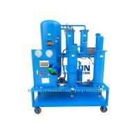 China Vacuum Lubricating Oil Filter and Dehydration Purifier Machine 1800 Liters/Hour wholesale