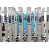 China Ultrasonic Technology 20 - 210cm Digital Height Weight BMI Scale Led Display wholesale