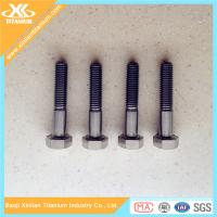 Best Price For Gr5 M6 DIN931 Titanium Hex Head Bolts