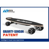China 36V Smart Self Balancing Electric Skateboard Four Wheel 1000W Instantaneous Power wholesale