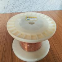 Buy cheap Self Bonding Ultfa Fine Rectangular Enamelled Copper Wire For Small Generator from wholesalers