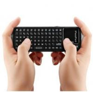 Multi-Media Wireless iPad Bluetooth Keyboards / QWERTY Keyboard With Charge Indicator