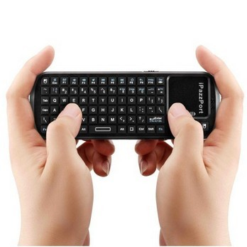 Quality Multi-Media Wireless iPad Bluetooth Keyboards / QWERTY Keyboard With Charge Indicator for sale