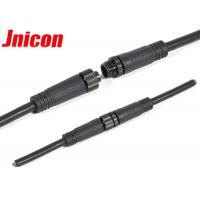 China IP68 3 Pin Male Female Wire Connector Waterproof Screw Locking Convenient Install wholesale