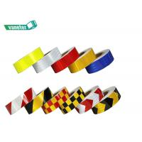 China High Intensity Reflective Safety Tape Single Sided Adhesive Eco - Friendly on sale