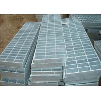 China Corrosion Resistant Galvanized Steel Grating Silver 32 X 5 Metal Walkway wholesale