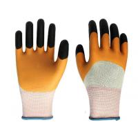 China latex rubber working glove foam latex working gloves wholesale