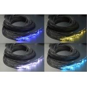 China End Light Fiber Optic Cable Lighting 0.75/1.0/1.5/2.0/2.5/3.0 mm with Black PVC Jacket wholesale