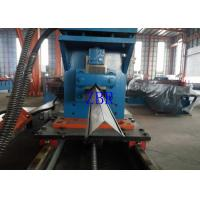 China Aluminium Shutter Door Roll Forming Machine Gearbox Driven 10M / Min Line Speed wholesale