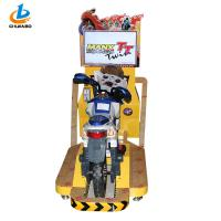 Coin Insert stimulating Motorcycle Arcade Game Machine Metal Material For Theme Park