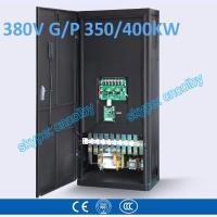 China 350kw/400kw VFD G/P pump  motor AC drive CNC frequency converter Low Voltage frequency inverter Vector Control Transduce wholesale