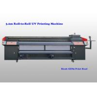 China 3200 Mm Wide Roll To Roll Uv Printing Machine For Advertisement And Decoration wholesale