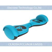 Blue Smart Kids Self Balancing Scooter 2 wheels with LED lighting