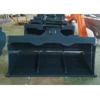 Quality 4T - 30 Ton Digger Tilt Buckets For Excavators Tilting Grading Buckets for sale