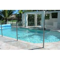 China BS6206 Standard Pool Fencing Glass With Polished Edges No Holes wholesale