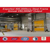 China ISO certification custom prefabricated warehouse buildings steel frame wholesale