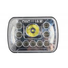 China Square 45W Auto LED Vehicle Work Light Cree Angle Eye Chip 3800 Lumens wholesale