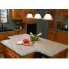 China White Kitchen Natural Granite Countertops Worktops 45 Degree Cutting wholesale