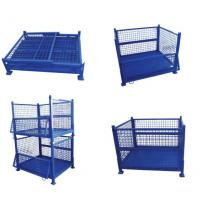 Industrial Collapsible Steel Wire Mesh Pallet Box Container