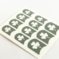 China Leaves printing Nail Art Stencils PET Coating Design for ladies wholesale