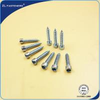 China M3~ M12 Socket Cap Head Screw / Self Tapping Wood Screws Zinc Plated wholesale