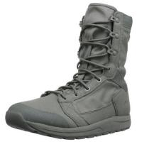 China Mens Tachyon 8 Military Boots Soft Black Cow Leather Slip - Resistant Outsole wholesale