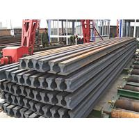 China Heavy Steel Rail Crane Rail Beam QU80 Size For Port Lifting Container wholesale