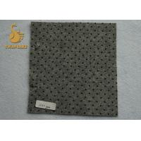 China Indoor Needle Punched Felt Polyester Needle Punched Nonwoven Fabric with PVC dots wholesale