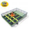 China Big Soft Indoor Playground Equipment , Professional Trampoline Children Dumping Theme Park Toys wholesale
