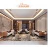 China Art Style Luxury Living Room Furniture Microfiber Leather Sofa Sets wholesale
