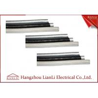 Grey / Black Galvanized Steel Flexible Electrical Conduit with PVC Coated