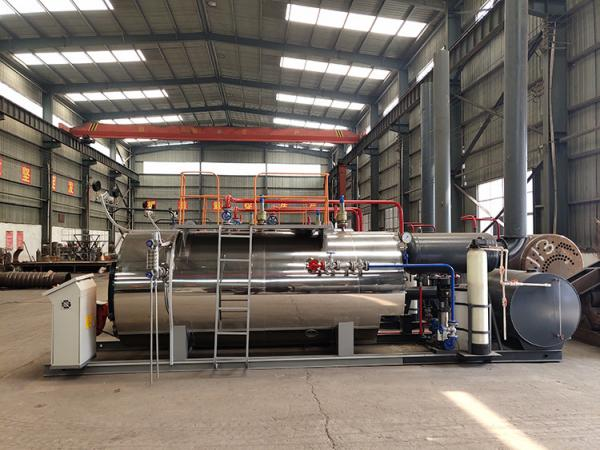 Quality Packaging Industry Use Horizontal Steam Boiler WNS Series 1 Ton Type for sale