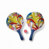 China Table Tennis Set, Made of Wood with PVC Handle, Customized Pantone Colors are Accepted wholesale