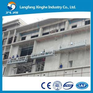 China zlp630 / zlp800 suspended working platform / hot galvanzed scaffolding / gondola platform on sale
