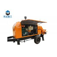 Buy cheap Diesel High Pressure Cement Pump 60 Cubic Meter Per Hour Double Filter System from wholesalers