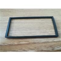 China Rectangle / Square Rubber Gaskets Seals , Anti Aging Epdm Rubber Gasket wholesale