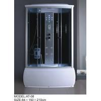 China Electronic system power shower enclosures with tray Syphon Included Included tub shower stalls wholesale