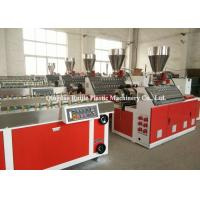 China Plastic PVC Wall Panel Production Line / Decorative WPC Board Making Machine wholesale