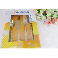 China 24pcs cutlery set with color box on sale
