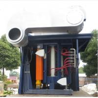 China 4500KW Steel Shell Hydraulic Tilting Type Medium Frequency Electrical Smelting Induction Furnace on sale