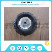 Quality Comb Pattern 10 Inch Pneumatic Wheels Large Friction Against Tire Skidding for sale