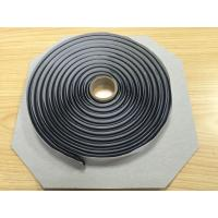 China Self Adhesive Waterproof Butyl Tape / Black Rubber Rope For Automotive SGS wholesale
