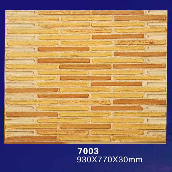 China Stone Decoration 3D Stone Look Wall Paneling For Exterior Wall